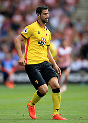 13 August 2016 - Premier League - Southampton v Watford - Miguel Angel Britos of Watford - Photo: Marc Atkins / Offside.