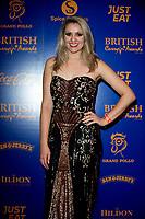 Larissa Eddie at  the British Curry Awards, at Evolution Battersea park London.