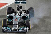 44 HAMILTON Lewis (Gbr) Mercedes Gp Mgp W05 Action during the 2014 Formula One World Championship, Grand Prix of Bahrain on April 6, 2014 in Sakhir, Bahrain. Photo Eric Vargiolu / DPPI