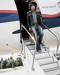 """Lenny Kravitz releases a photo on Twitter with the following caption: """"""""It's beautiful to be back in Buenos Aires #RaiseVibrationTour2019 📸: David Hindley"""""""". Photo Credit: Twitter *** No USA Distribution *** For Editorial Use Only *** Not to be Published in Books or Photo Books ***  Please note: Fees charged by the agency are for the agency's services only, and do not, nor are they intended to, convey to the user any ownership of Copyright or License in the material. The agency does not claim any ownership including but not limited to Copyright or License in the attached material. By publishing this material you expressly agree to indemnify and to hold the agency and its directors, shareholders and employees harmless from any loss, claims, damages, demands, expenses (including legal fees), or any causes of action or allegation against the agency arising out of or connected in any way with publication of the material."""