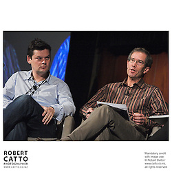 Richard Fletcher;Tony Bishop at the Spada Conference 06 at the Hyatt Regency Hotel, Auckland, New Zealand.<br />