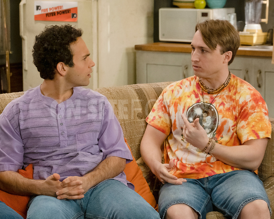 """THE GOLDBERGS - """"The Dating Game"""" – Trying to move on from their breakup, Erica goes on a date with a guy from the coffee shop while Geoff ends up on an episode of """"The Dating Game,"""" which winds up making things even more difficult for them both. Meanwhile, Beverly is thrilled to learn that Murray has spontaneously purchased a shore house until she realizes it's not quite the luxury home she imagined on a new episode of """"The Goldbergs,"""" WEDNESDAY, APRIL 21 (8:00-8:30 p.m. EDT), on ABC. (ABC/Scott Everett White)<br /> TROY GENTILE, SHAYNE TOPP"""