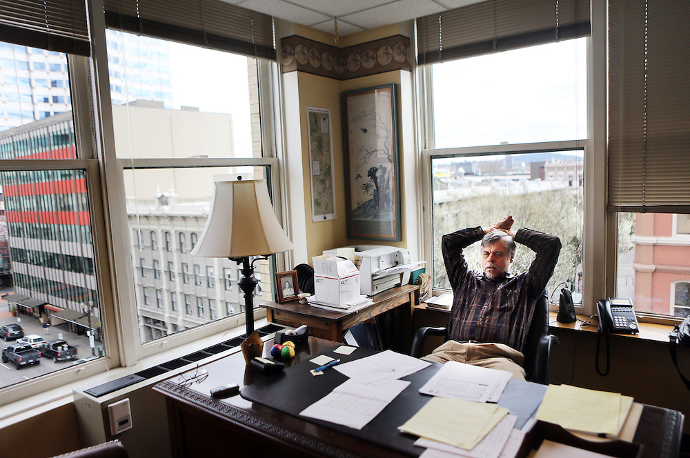 Portland, Ore., lawyer Paul Breed is struggling to sign up for health care through the state's exchange, Cover Oregon. His income is variable, and though he has been told he is eligible for the Oregon Health Plan, the state's low-income plan, he is skeptical.