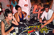 Odette Yustman, Olivia Munn and Dave Annable..Celebrities attend Hollywood Domino Celebrity Golf Tournament Gala during Labor Day weekend in Puerto Rico..Palomino Island, Puerto Rico, USA..Saturday, September 03, 2011..Photo By CelebrityVibe.com..To license this image please call (323) 425-4035; or .Email: CelebrityVibe@gmail.com ; .website: www.CelebrityVibe.com.**EXCLUSIVE**