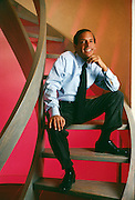 Steve Rubell, along with Ian Schrager founded Studio 54, one of the most happening discos of its time in New York City and  after a short stint in prison for tax evasion opened a string of successful hotels like the Morgan here.