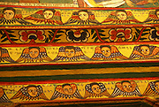 Ethiopia Lake Tana Zege Peninsula, Murals, in the Christian Church of Ura Kedane Meheriet,