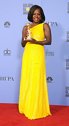 Viola Davis at the 74th Annual Golden Globe Awards.<br />(Beverly Hills, CA)