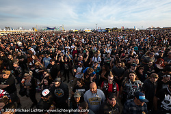 The punk rock festival Surf City Blitz was staged together with the RSD Moto Beach Classic. Huntington Beach, CA, USA. Sunday October 28, 2018. Photography ©2018 Michael Lichter.
