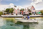 Tiny village of Hope Town, Elbow Cay Abacos, Bahamas.