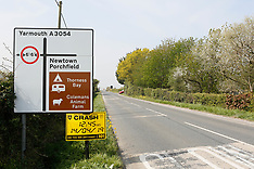 Scene of Major Incident on the Isle of Wight