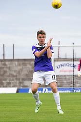 East Fife's Jason Kerr. <br /> East Fife 2 v 1 Elgin City, Ladbrokes Scottish Football League Division Two game played 22/8/2015 at East Fife's home ground, Bayview Stadium.