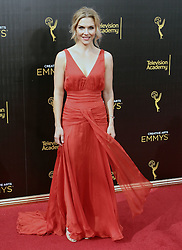 . Rhea Seehorn  attends  2016 Creative Arts Emmy Awards - Day 1 at  Microsoft Theater on September 10th, 2016  in Los Angeles, California.Photo:Tony Lowe/Globephotos