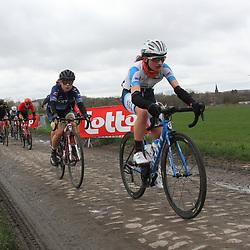 03-03-2020: Wielrennen: GP Le Samyn: vrouwen: Dour: Magdaleine Vallieres