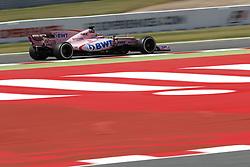 May 13, 2017 - Barcelona, Spain - Motorsports: FIA Formula One World Championship 2017, Grand Prix of Spain, .#11 Sergio Perez (MEX, Sahara Force India F1 Team) (Credit Image: © Hoch Zwei via ZUMA Wire)