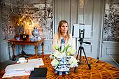 Koningin Maxima houdt toespraak bij digitale AVVN-conferentie