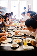 Blue Ginger restuarant specializes in Peranakan (Chinese-Malay)  cuisine.