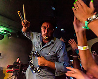 "SOJA at the Hamilton Live - album release party: ""Amidst the Noise and Haste,"" Washington, DC, Aug. 2014 (photo: John Shore)"