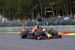 September 1, 2019, Spa-Francorchamps, Belgium: Motorsports: FIA Formula One World Championship 2019, Grand Prix of Belgium, ..#23 Alexander Albon (THA, Aston Martin Red Bull Racing), #3 Daniel Ricciardo (AUS, Renault F1 Team) (Credit Image: © Hoch Zwei via ZUMA Wire)
