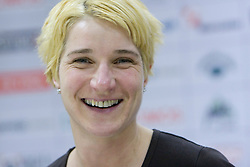 Vesna Pus at  press conference of Handball women national team of Slovenia before prequalification tournament (for World Championship China 2009) in Montenegro from 25th till 30th November 2008, on November 31, 2008, in RZS, Ljubljana, Slovenia. (Photo by Vid Ponikvar / Sportida)