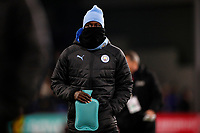 Football - 2019 / 2020 Premier League - Burnley vs. Manchester City<br /> <br /> Benjamin Mendy of Manchester City with his hot water bottle at Turf Moor.<br /> <br /> COLORSPORT/LYNNE CAMERON