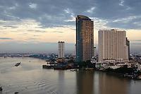 Chao Phraya River Bangkok ,Thailand.