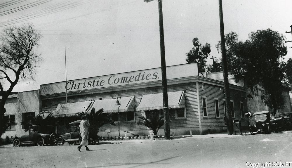 1922 Christie Studios at Sunset Blvd. & Gower St.