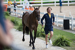 Svennerstal Ludwig, SWE, Aspe<br /> Final Horse inspection Eventing<br /> Olympic Games Rio 2016<br /> © Hippo Foto - Dirk Caremans<br /> 09/08/16