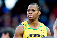 LONDON OLYMPIC GAMES 2012 - OLYMPIC STADIUM , LONDON (ENG) - 05/08/2012 - PHOTO : POOL / KMSP / DPPI<br /> ATHLETICS - MEN 100M - YOHAN BLAKE (JAM)