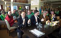 ALPHEN AAN DEN RIJN - Golfclub Zeegersloot heeft het GEO certificaat in ontvangst genomen. Op de foto NGF president Willem Zelsmann.  COPYRIGHT KOEN SUYK