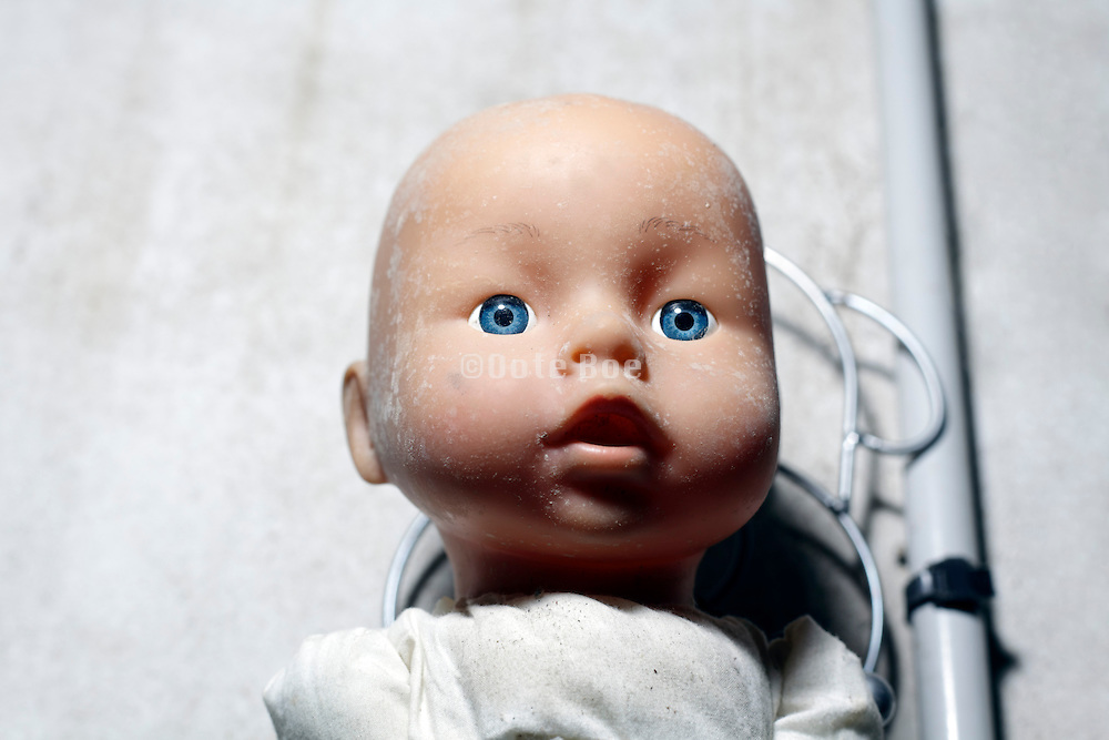 head of baby doll