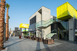 New Boxpark retail development in Dubai United Arab Emirates