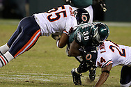 PHILADELPHIA - OCTOBER 21: Philadelphia Eagle's Brian Westbrook runs with the ball during the game against the Chicago Bears on October 21, 2007 at Lincoln Financial Field in Philadelphia, Pennsylvania. The Bears won 19-16.