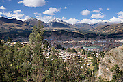 Huaraz (population 120,000 in 2007, elevation 3052 meters / 10,000 feet) was founded in 1574 in Callejon de Huaylas Valley in the Andes Mountains, Peru, South America. Huaraz is Peru's center of climbing, hiking, snowboarding and is also the main tourist center of the Ancash region.