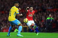 Angel di Maria of Manchester United in action - Manchester United vs. Crystal Palace - Barclay's Premier League - Old Trafford - Manchester - 08/11/2014 Pic Philip Oldham/Sportimage