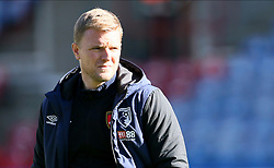Bournemouth manager Eddie Howe ahead of the Premier League match at the John Smith's Stadium, Huddersfield.