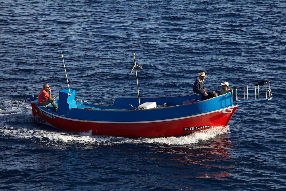 08/Abril/2014 Islas Canarias. El Hierro.<br /> Barca de pesca tradicional en La Restinga.<br /> <br /> © JOAN COSTA