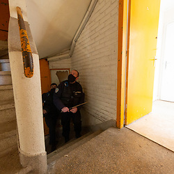 Formation continue de trois équipages de police secours de la DDSP 80 organisée par les formateurs du CDSF sur les thématiques des tapages nocturnes et diurnes, de la progression en sécurité dans un immeuble habité et de l'intervention dans le cadre de violences intrafamiliales.