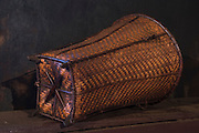 Ao Naga baskets<br /> Ao Naga headhuntingTribe<br /> Mokokchung district<br /> Nagaland,  ne India