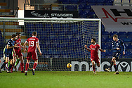 Oli Shaw of Ross County scores no 3 during the Scottish Premiership match between Ross County FC and Aberdeen FC at the Global Energy Stadium, Dingwall, Scotland on 16 January 2021.