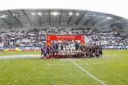 May 14, 2017 - Paris, France, France - Podium  : Ecosse ( 2eme) / Afrique du Sud (1er) vainqueur / Nouvelle Zelande  (Credit Image: © Panoramic via ZUMA Press)