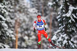 March 9, 2019 - –Stersund, Sweden - 190309 David Panyik of Hungary competes in the Men's 10 KM sprint during the IBU World Championships Biathlon on March 9, 2019 in Östersund..Photo: Petter Arvidson / BILDBYRÃ…N / kod PA / 92252 (Credit Image: © Petter Arvidson/Bildbyran via ZUMA Press)