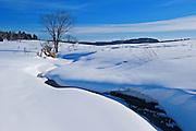 winter scenic<br /> Near Calumet<br /> Quebec<br /> Canada