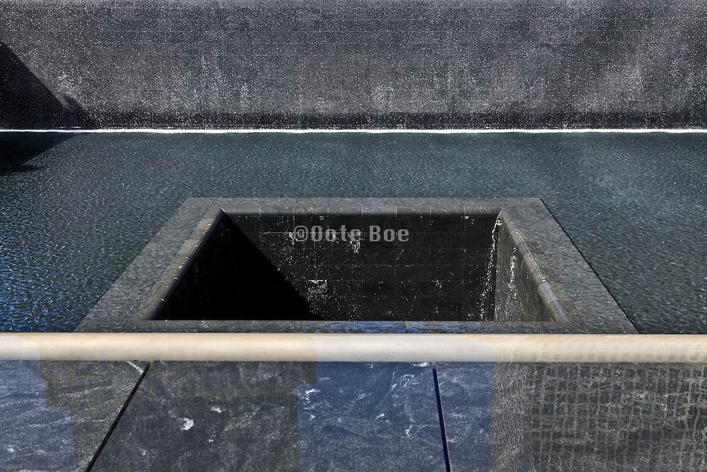 9/11 memorial to the World Trade Center in New York City