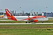 EasyJet Airbus A320 at Milan - Malpensa (MXP / LIMC) Italy