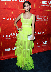 BEVERLY HILLS, LOS ANGELES, CA, USA - OCTOBER 18: amfAR Gala Los Angeles 2018 held at the Wallis Annenberg Center for the Performing Arts on October 18, 2018 in Beverly Hills, Los Angeles, California, United States. 18 Oct 2018 Pictured: Victoria Justice. Photo credit: Xavier Collin/Image Press Agency/MEGA TheMegaAgency.com +1 888 505 6342