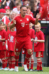 02.07.2011, Allianz Arena, Muenchen, GER, 1.FBL, FC Bayern Muenchen Saisoneröffnung , im Bild Franck Ribery (Bayern #7)  , EXPA Pictures © 2011, PhotoCredit: EXPA/ nph/  Straubmeier       ****** out of GER / CRO  / BEL ******