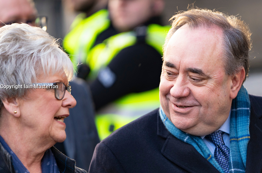 Edinburgh, Scotland, UK. 20 March, 2020.  Alex Salmond leaves the High Court in Edinburgh on day ten of his trial. Iain Masterton/Alamy Live News