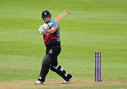 Jim Allenby of Somerset in action.  - Mandatory by-line: Alex Davidson/JMP - 17/08/2016 - CRICKET - Cooper Associates County Ground - Taunton, United Kingdom - Somerset v Worcestershire Rapids - Royal London One Day Cup Quarter Final