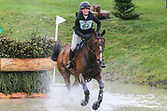 Dollarney ridden by Katie Magee in the Equi-Trek CCI-L4* Cross Country during the Bramham International Horse Trials 2019 at Bramham Park, Bramham, United Kingdom on 8 June 2019.