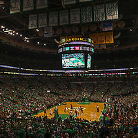 This Boston sport panorama photography image of the Boston Celtics at the TD Garden is available as museum quality photography prints, canvas prints, acrylic prints, wood prints or metal prints. Wall art prints may be framed and matted to the individual liking and decorating needs:<br /> <br /> https://juergen-roth.pixels.com/featured/boston-celts-juergen-roth.html<br /> <br /> Boston Celtics playing Washington Wizards in the NBA basketball eastern conference semi final game 7 at the TD Garden in Boston. The C's are an American professional basketball franchise based in Boston, Massachusetts. They play in the Atlantic Division of the Eastern Conference in the National Basketball Association and the C-Green Smash Machine holds 17 NBA titles: 2008, 1986, 1984, 1981, 1976, 1974, 1969, 1968, 1966, 1965, 1964, 1963, 1962, 1961, 1960, 1959, 1957.<br /> <br /> Good light and happy photo making!<br /> <br /> My best,<br /> <br /> Juergen<br /> Image Licensing: http://www.RothGalleries.com <br /> Fine Art Prints: http://juergen-roth.pixels.com<br /> Photo Blog: http://whereintheworldisjuergen.blogspot.com<br /> Twitter: https://twitter.com/naturefineart<br /> Facebook: https://www.facebook.com/naturefineart <br /> Instagram: https://www.instagram.com/rothgalleries